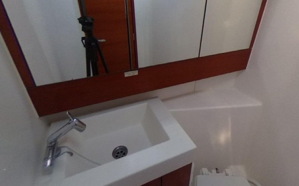 Dufour 410 Grand Large 6, banyo